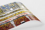 Sitze in der Nationalarena Bukarest als FineArt-Print