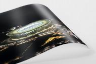 Cape Town Stadium bei Nacht als FineArt-Print