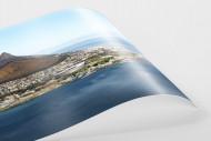 Cape Town Stadium vom Wasser aus als FineArt-Print