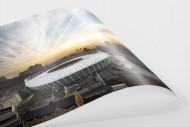Himmel über dem Olympiastadion Kiew als FineArt-Print