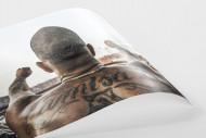 Tattooed Corinthians Fan als FineArt-Print