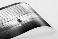 Torwart im Nebel als FineArt-Print
