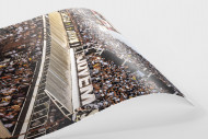 Terraces Full Of Supporters als FineArt-Print