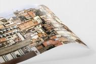 Favelas Around The Stadium als FineArt-Print