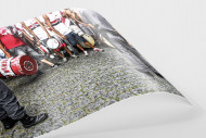FC São Paulo Fans Waiting To Get In The Stadium als FineArt-Print