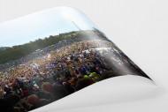 Aufstiegsfeier Aue als FineArt-Print