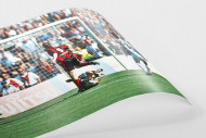 Übersteiger zum Klassenerhalt als FineArt-Print