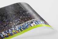 Magdeburg jubelt im Pokal als FineArt-Print