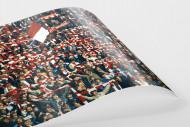 Bayern Fans 1982 als FineArt-Print