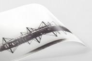 Es spiegelt sich der Signal Iduna Park als FineArt-Print