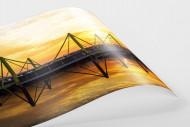 Signal Iduna Park bei Sonnenuntergang als FineArt-Print