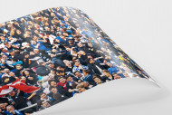 HSV Fans bei der Relegation nach dem Tor als FineArt-Print
