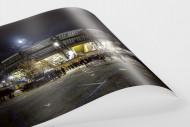 Stadio San Paolo bei Flutlicht (Farbe) als FineArt-Print