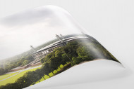 Blick auf die Kölner Arena als FineArt-Print