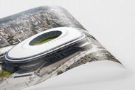 Maracana und Skyline Rio als FineArt-Print