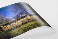 Kartenhäuschen Mommsenstadion als FineArt-Print