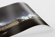 Millerntor bei Flutlicht (Farbe-2) als FineArt-Print
