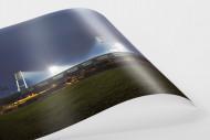 Weserstadion bei Flutlicht (Farbe-Querformat-1) als FineArt-Print