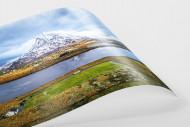 Fußballplatz im Glenveagh Nationalpark als FineArt-Print