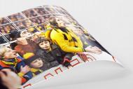 Junge BVB-Fans als FineArt-Print