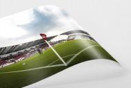 Eckfahne Stadion Essen als FineArt-Print