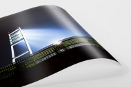 Flutlichtmast Weserstadion als FineArt-Print