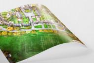 Fußballplatz in Shrewsbury als FineArt-Print