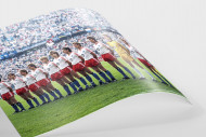 HSV im Pokalfinale als FineArt-Print