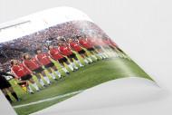 Frankfurt im Pokalfinale 1981 als FineArt-Print