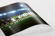 M'gladbach im Rheinstadion als FineArt-Print