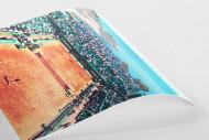 Tennis mit Aussicht als FineArt-Print