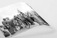 Vor der 7. Etappe bei der Tour 1951 als FineArt-Print