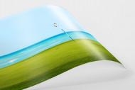 Loch am Meer als FineArt-Print