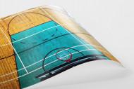 Basketballhalle in Estland als FineArt-Print