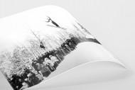 Skisprung in Chamonix als FineArt-Print