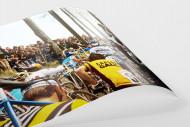 Fahrradtragen bei der Flandern-Rundfahrt als FineArt-Print