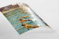 Rückwärts ins Wasser als FineArt-Print