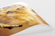 Autos im chilenischen Sand als FineArt-Print