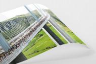 Marathon über die Brücke als FineArt-Print