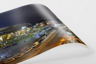 Stadio San Paolo bei Flutlicht (Panorama) als FineArt-Print
