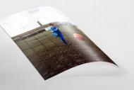 Torschuss - Wandbild aus Perspektive des Keepers