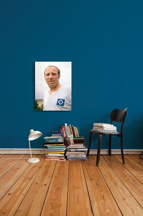 Porträt Uwe Seeler in deinen vier Wänden - 11FREUNDE BILDERWELT