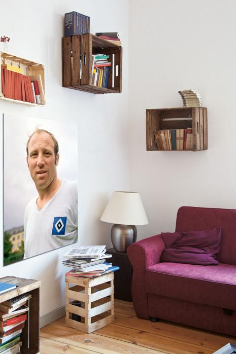 Porträt Uwe Seeler in deinem Wohnzimmer - 11FREUNDE BILDERWELT