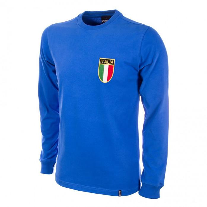 Italy 1970's Long Sleeve Retro Football Shirt