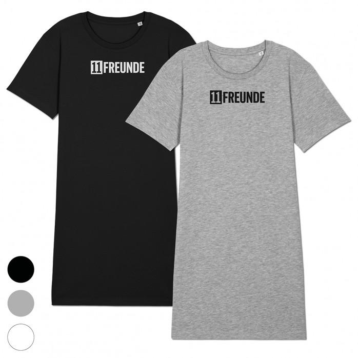 Shirtkleid - 11FREUNDE Logo (Fairwear & Bio-Baumwolle)