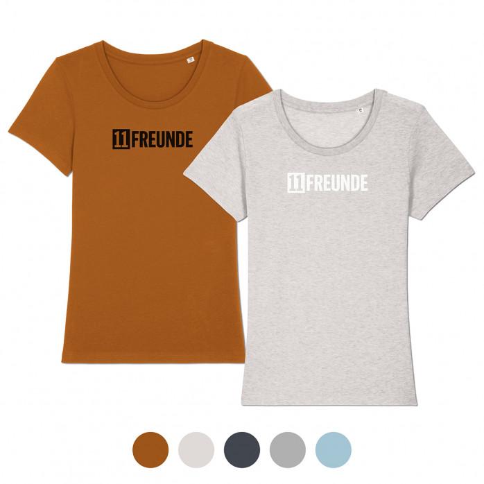 Frauen-Shirt - 11FREUNDE Logo (Faiwear & Bio-Baumwolle) - 11FREUNDE Textil