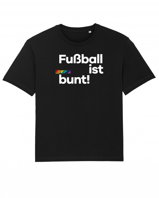 11FREUNDE Fußball ist bunt T-Shirt (Fairwear & Bio-Baumwolle)