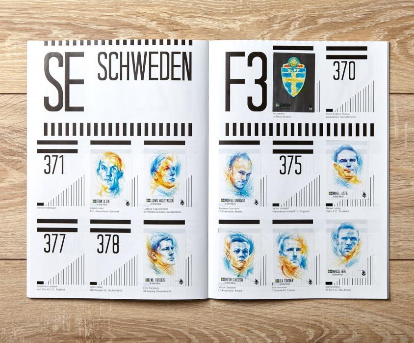 Sammelalbum: TSCHUTTI HEFTLI WM 2018 - 11FREUNDE SHOP