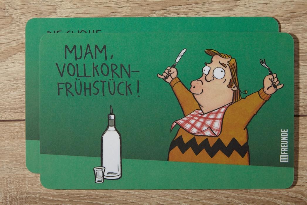 Günter Hetzer Frühstücksbrettchen-Set - 11FREUNDE SHOP