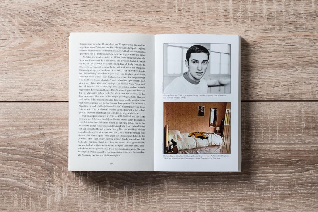 George Best - Der ungezähmte Fußballer - Fußball Buch - 11FREUNDE SHOP